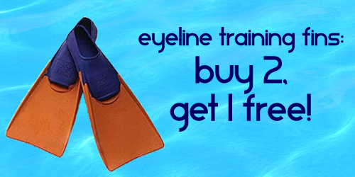 Eyeline Training Fins Sale Buy 2 Get 1 Free